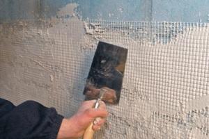 Армирование стены