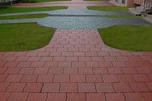 Тротуарная плитка старый город варианты укладки