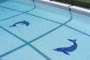 Фарфоровая для бассейна