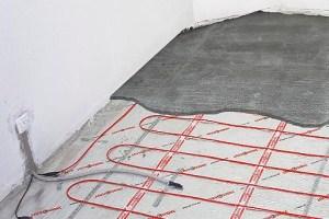 Можно ли ставить наливной пол на теплый пол какая краска евро для покраски стен лучше