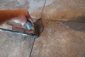 Цементная затирка для пл