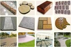 Тротуарная плитка – видео материал об изготовлении и укладке