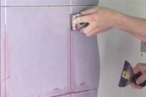 Затирка для плитки — средний расход