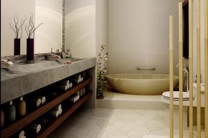 Ванная комната – дизайн плитки