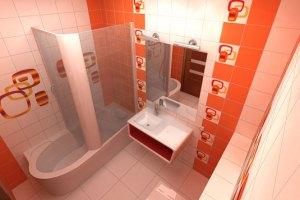 Раскладка плитки в ванной с фото: лучшие варианты