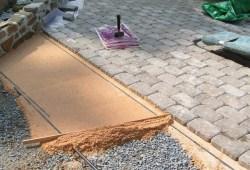 как укладывать тротуарную